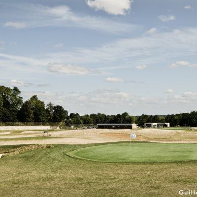 Vue du parcours en juin 2012 golf de Louvigny