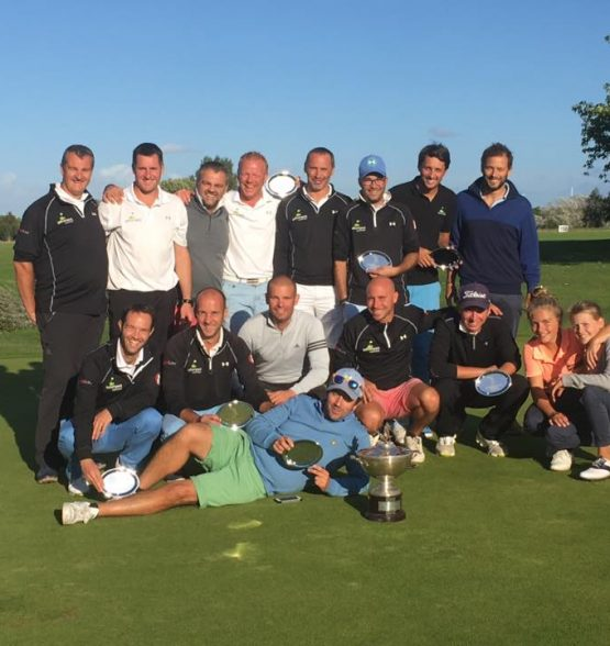 équipe masculine du golf de Louvigny 2017