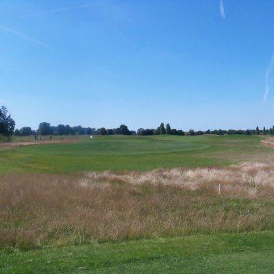 Vue du parcours de golf de Louvigny