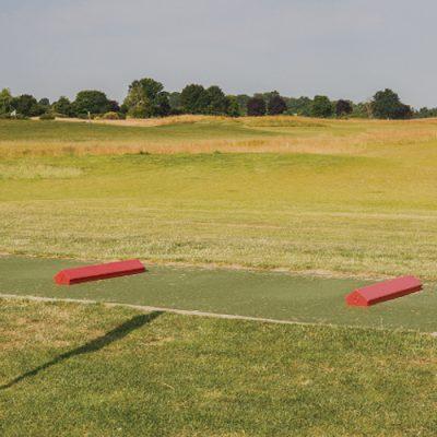 le pratice du golf de Louvigny