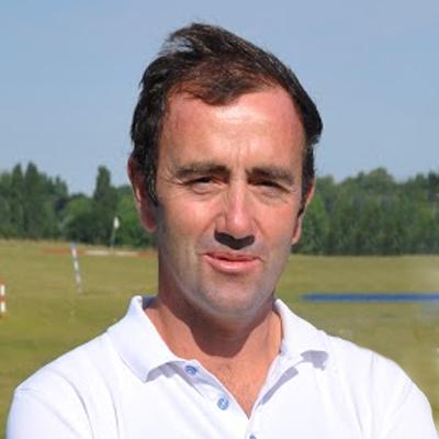Christophe, formateur au Golf Compact de Louvigny