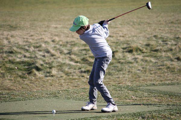 l'école de golf du golf de Louvigny