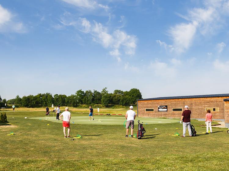 le golf de Louvigny et sa zone d'entrainement au golf