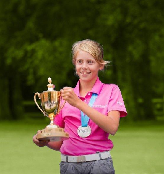 Championne de france U12 en 2016
